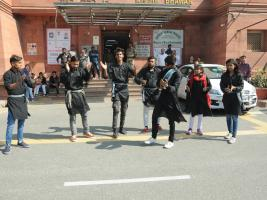 "NUKKAD NATAK DURING ""SWACHHTA PAKHWARA"" on dated 18.02.2020"