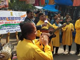 Nukkad Natak during Swachhata Pakhwada at NDMC