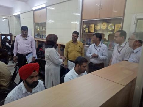 AS&FA and JS (CA) visited NCH, IIPA New Delhi
